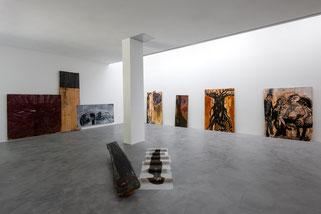 Abb.. Ausstellung Gustav Kluge im Museum Lothar Fischer. Foto: Andreas Pauly