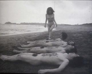 ゼロ次元《いなばの白うさぎ(短縮版)》 1970-2012 撮影:筆者