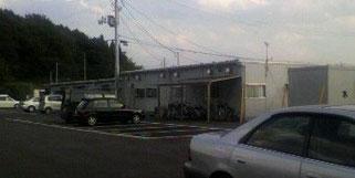 浪江町の住民が避難している仮設住宅