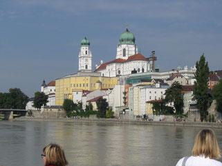 Passauer Altstadt mit Stephansdom
