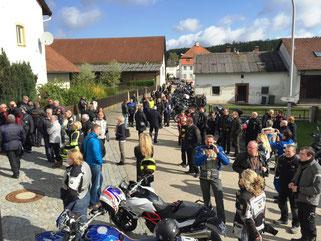 Motorradweihe Bettbrunn 2016