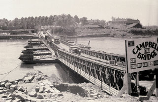 Campbell Bridge te Arnhem (Nico Kramer, Gelders Archief)