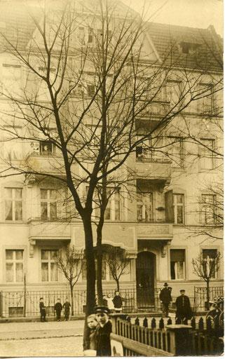 Berlin-Pankow, Schulzestr. 41, ab 1907 Wohnort von Reinhold Burger und Familie