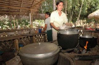 Fogón (cocina) típico de la Provincia de Manabí. Foto: GADPM.