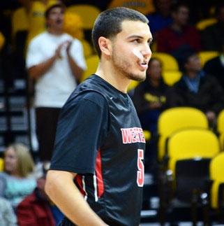Mason Biddle spielte zuletzt in der NCAA für die Western State Colorado University.
