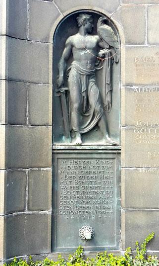Grabmal Külsen Johannisfriedhof Dresden Bild: Susann Wuschko