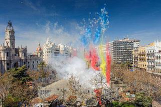 Fallas de Valencia-Mascletà