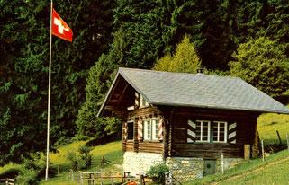 Berglihütte des Blau Club Olten ob Oberbuchsitten