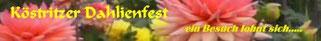 Jedes Jahr Dahlienfest am ersten Septemberwochenende