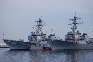 米軍のイージス艦