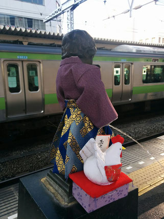 浜松町駅の小便小僧