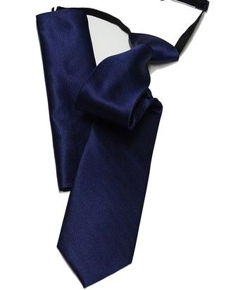 corbata laboral azul