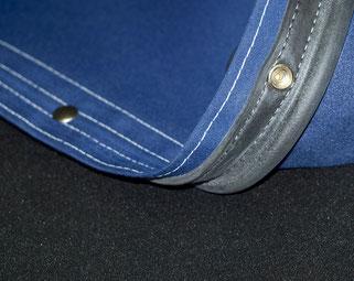 option de finition de fabrication de bimini sellerie nautique dans les Alpes-Maritimes 06 et Monaco
