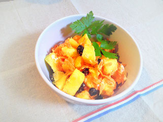サツマイモサラダ