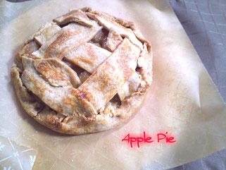 バターなしのアップルパイ