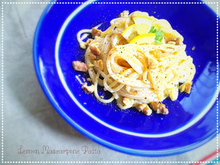 Lemon Mascarpone Pasta