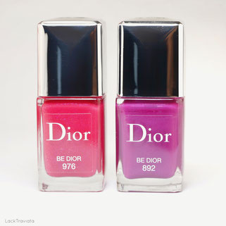 comparison Dior • BE DIOR 976 • BE DIOR 892