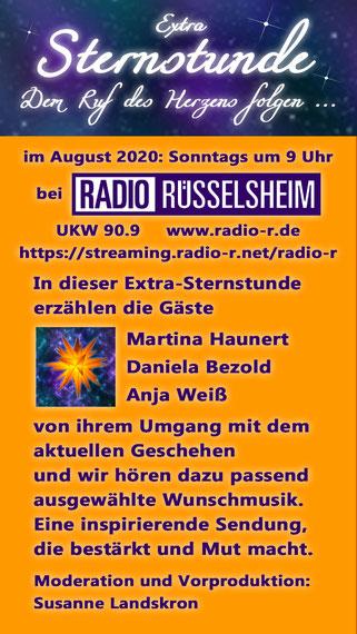 Sternstunden - Dem Ruf des Herzens folgen - August 2020