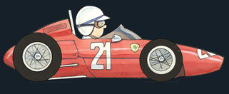 John Surtees by Muneta & Cerracín