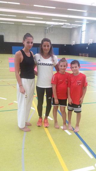 Miriam Ersezen, Sümeyye Manz (geb. Gülec), Sumeya Smajic, Leon Pak