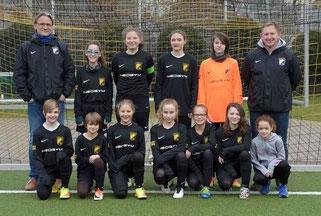 TuS U13-Juniorinnen im Februar 2017. - Foto: a.s.