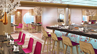 AIDAnova Sushihouse