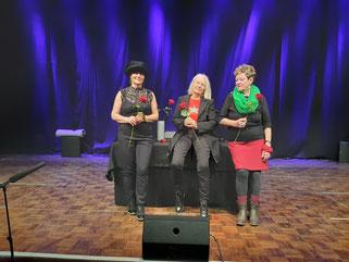 Elisabeth Hannak, Renate Runge, Adi Hübel