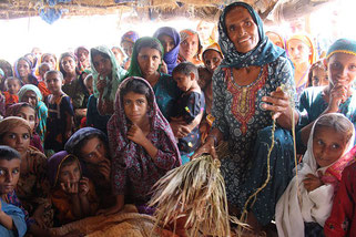 Женщины и девочки Пакистана
