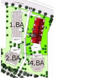 Lageplan Ferienwohnung Cuxhaven Duhnen HoheLith 3.23 und 3.28