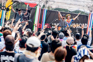 ザ・クレーター RBLOTR Festival stage © 2013 RED BULL
