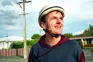 ein neuseeländischer Radsport-Fan