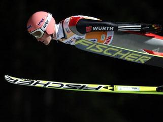 Die deutschen Skispringer um Severin Freund präsentierten sich gut in Form zum Weltcup-Auftakt. Foto: Hendrik Schmidt