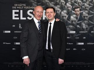 Der Regisseur und sein Hauptdarsteller: Oliver Hirschbiegel (l) und Christian Friedel. Foto: Britta Pedersen