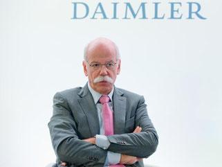 Daimler-Chef Dieter Zetsche. Foto: Daniel Karmann