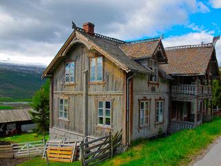 altes Haus bei Lesia