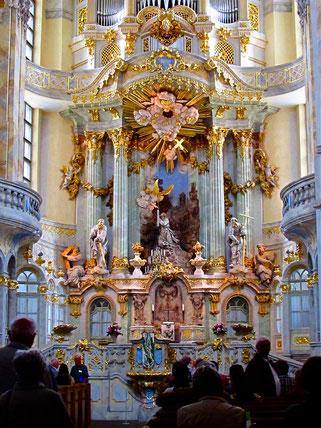 barocker Hochaltar der Frauenkirche