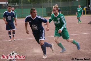 """Christian Jusik, auch """"Siggi die Säge"""" genannt, erzielte drei Tore."""