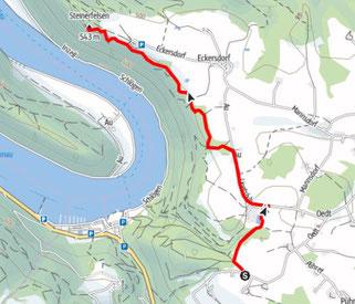 Wanderung - Steinerfelsen - Schlögener Schlinge - Donauregion