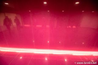 Розовая проходная комната отдыха