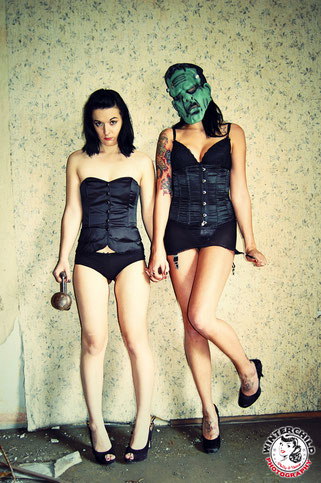 Pin-Up, Pin-Up-Girls, Frankenstein, Winterchild Photography, Double Feature