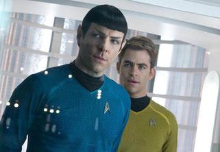 Spock et Kirk, chic et choc (©Paramount Pictures)