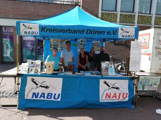 Stadtfest Düren NABU-Stand Stand NABU Düren