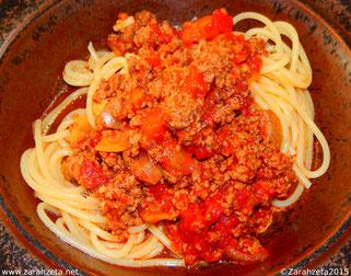 Hexenküche, Rezepte, Spaghetti Bolognese ©Zarahzeta2015