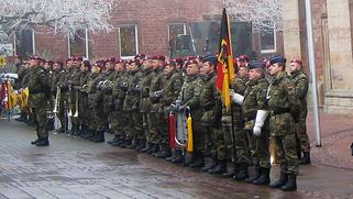 Das Heeresmusikkorps aus Veitshöchheim