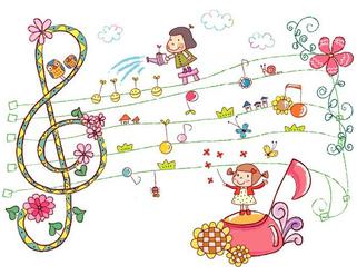 あまの音楽教室 イメージイラスト