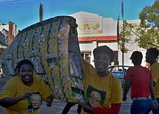 06. April 2014 - Bald sind wieder Wahlen in Südafrika