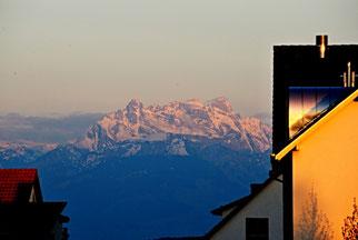 05. Mai 2014 - Wenn der Alpenfirn sich rötet...