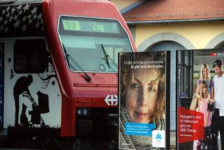 29. Juni 2014 - Der Kluge fährt im Zug(e) - durch den Dshungel der Werbung