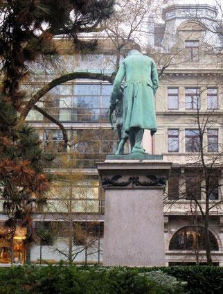 24. Februar 2014 - Johannes Heinrich Pestalozzi, der uns den Rücken kehrt