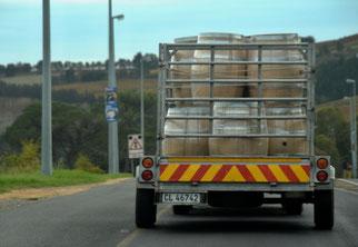 08. April 2014 - Unterwegs im Weingebiet von Sudafrika